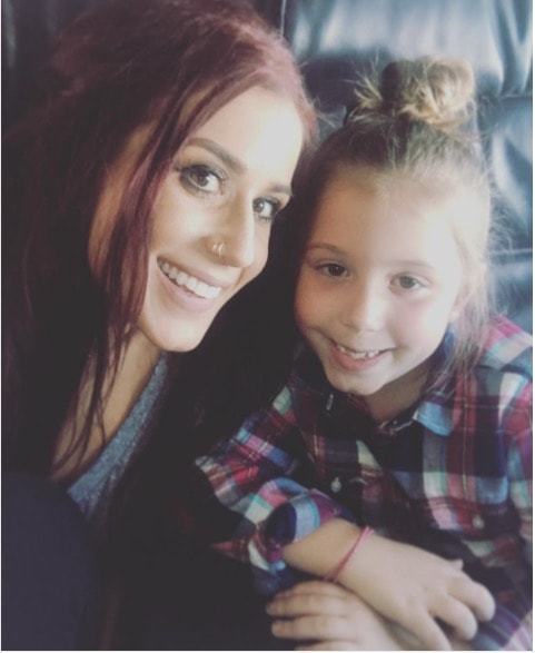 Chelsea Houska With Aubree