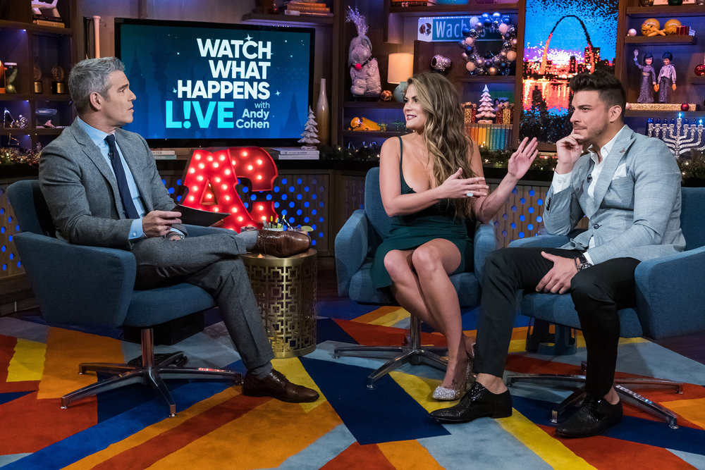Andy Cohen, Brittany Cartwright & Jax Taylor