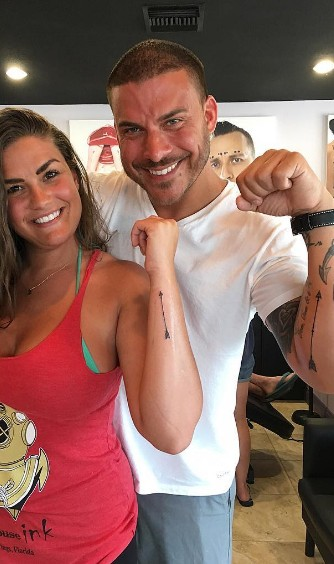 Jax & Brittany Showing Off Their Tattoos