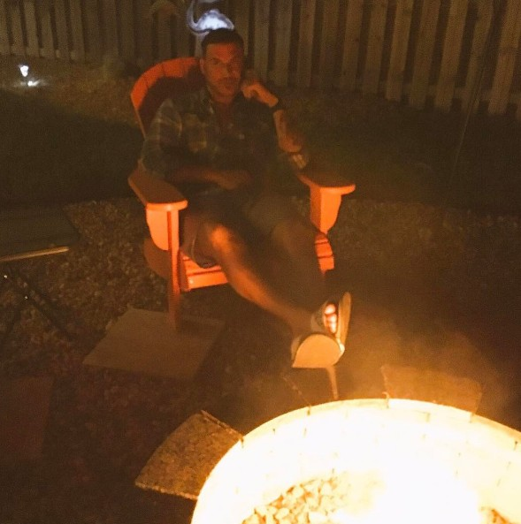 Jax Relaxing By The Fire