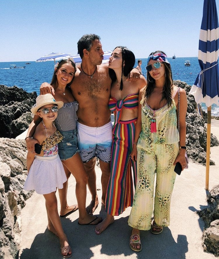 Kyle Richards Vacations In Europe With Her Family & Faye ...