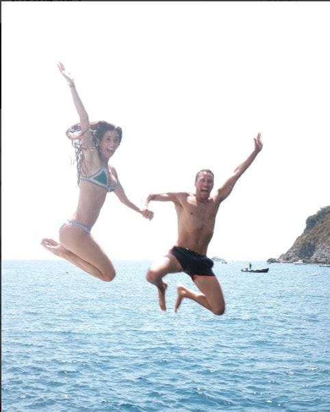 Lydia & Doug Jump For Joy