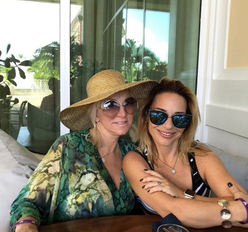 Margaret Josephs With A Friend
