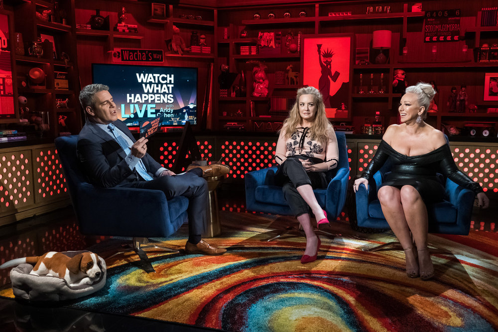 Andy Cohen, Wendi McLendon-Covey & Margaret Josephs