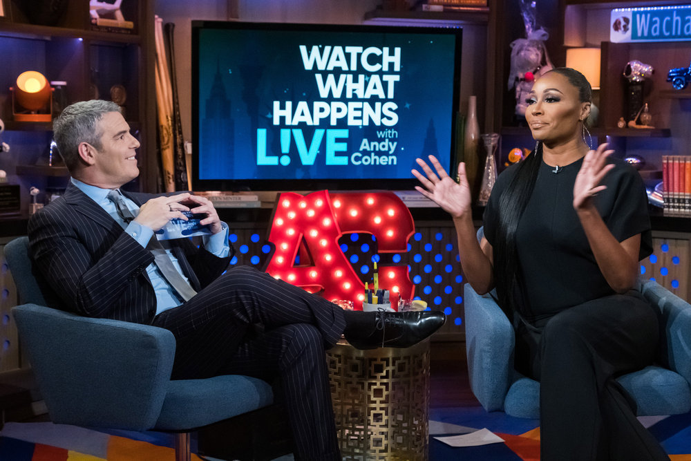 Andy Cohen & Cynthia Bailey