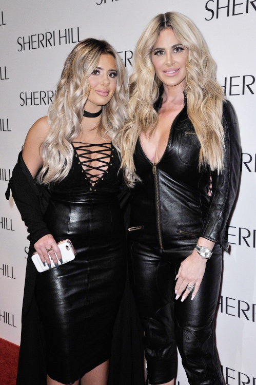 Kim Zolciak and Brielle Biermann