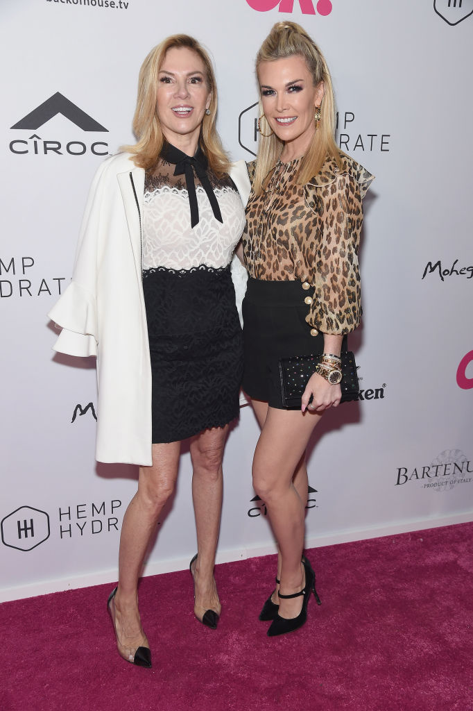 Ramona Singer and Tinsley Mortimer