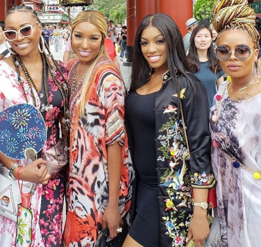 Cynthia Bailey, Nene Leakes, Porsha Williams, & Eva Marcille