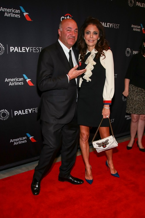 Kevin O'Leary and Bethenny Frankel