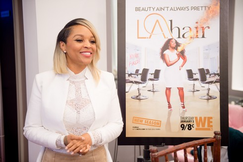 L.A. Hair Viewing Party