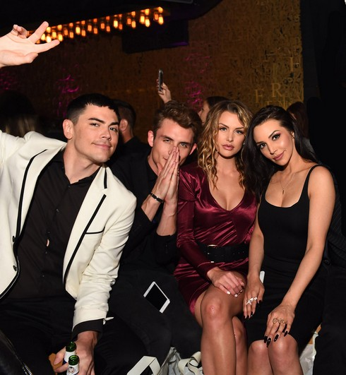 Tom Sandoval, James Kennedy, Lala Kent and Scheana Marie