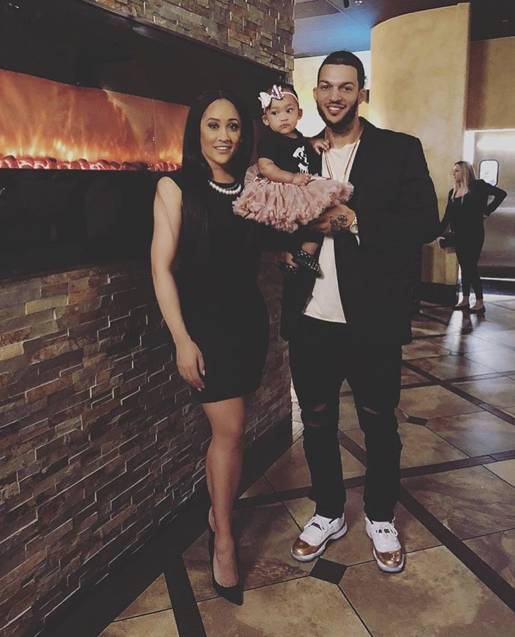 Natalie Nunn With Her Husband & Daughter