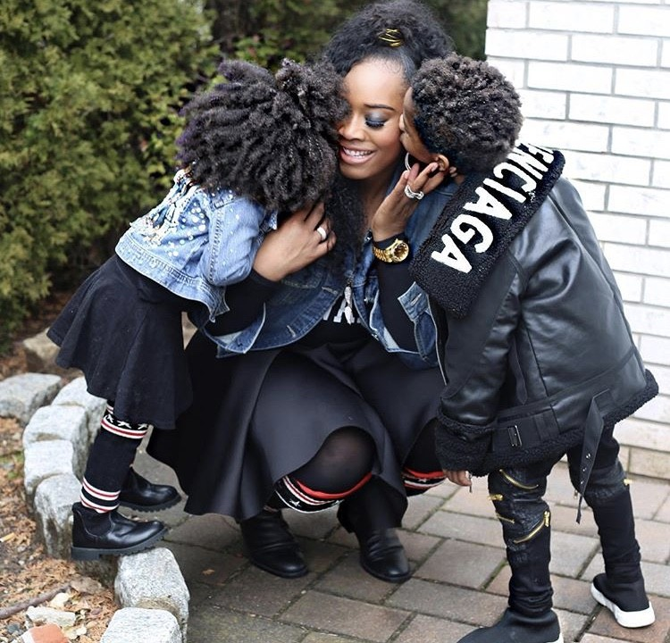 Yandy Smith With Her Family