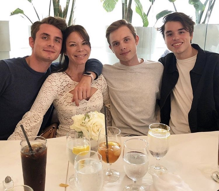 James Kennedy With His Family