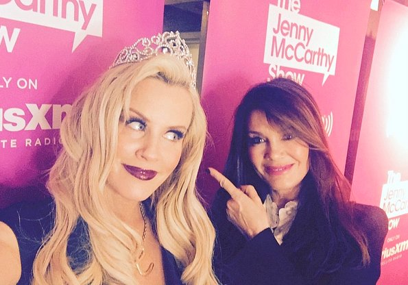 Jenny McCarthy with Lisa Vanderpump