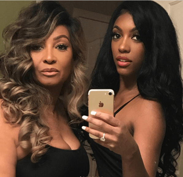 Porsha Williams With Her Mom