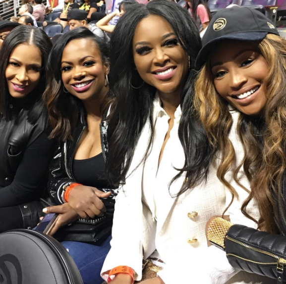 Sheree, Kandi, Kenya, & Cynthia At The Game