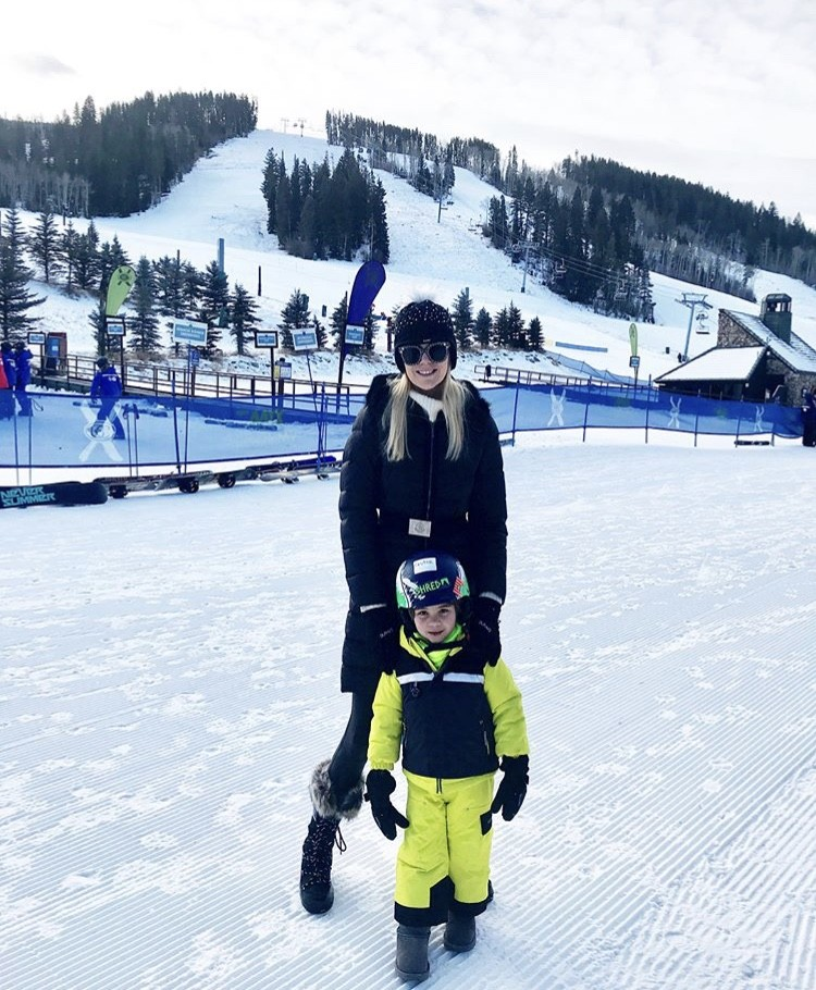 Kameron With Her Son