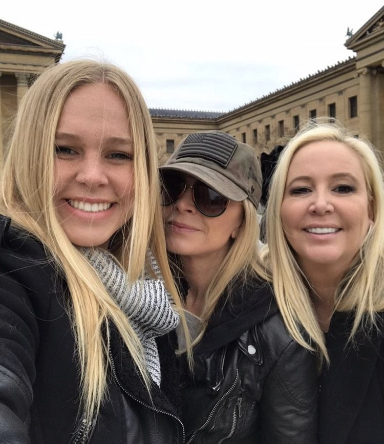 Shannon With Her Daughter Sophie & Tamra