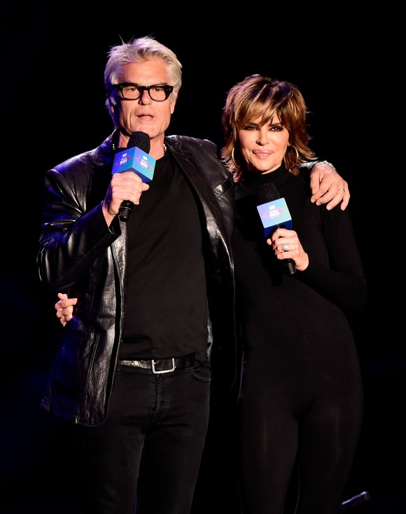 Lisa Rinna & Harry Hamlin