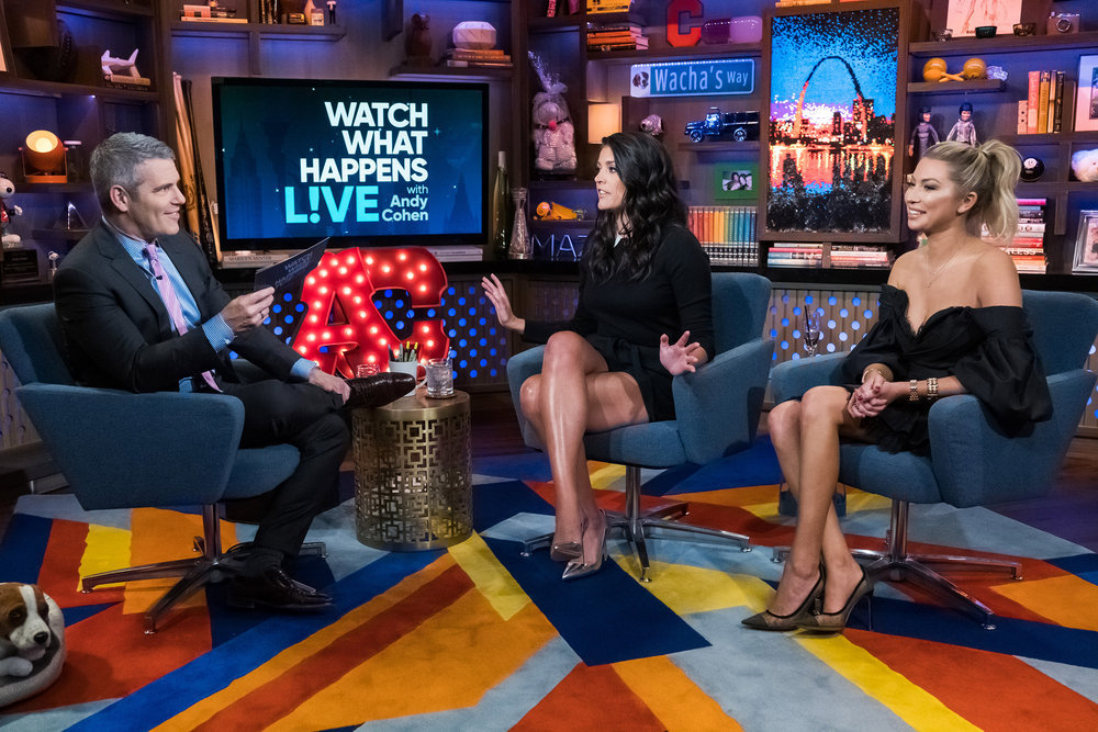 Andy Cohen, Cecily Strong, & Stassi Schroeder