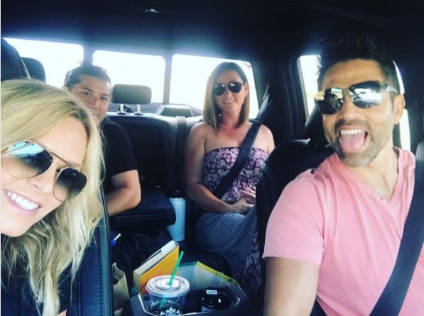 Tamra Road Tripping With Eddie & Friends