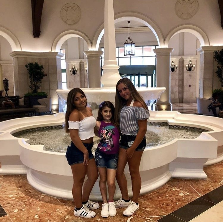 Milania & Audriana With A Friend