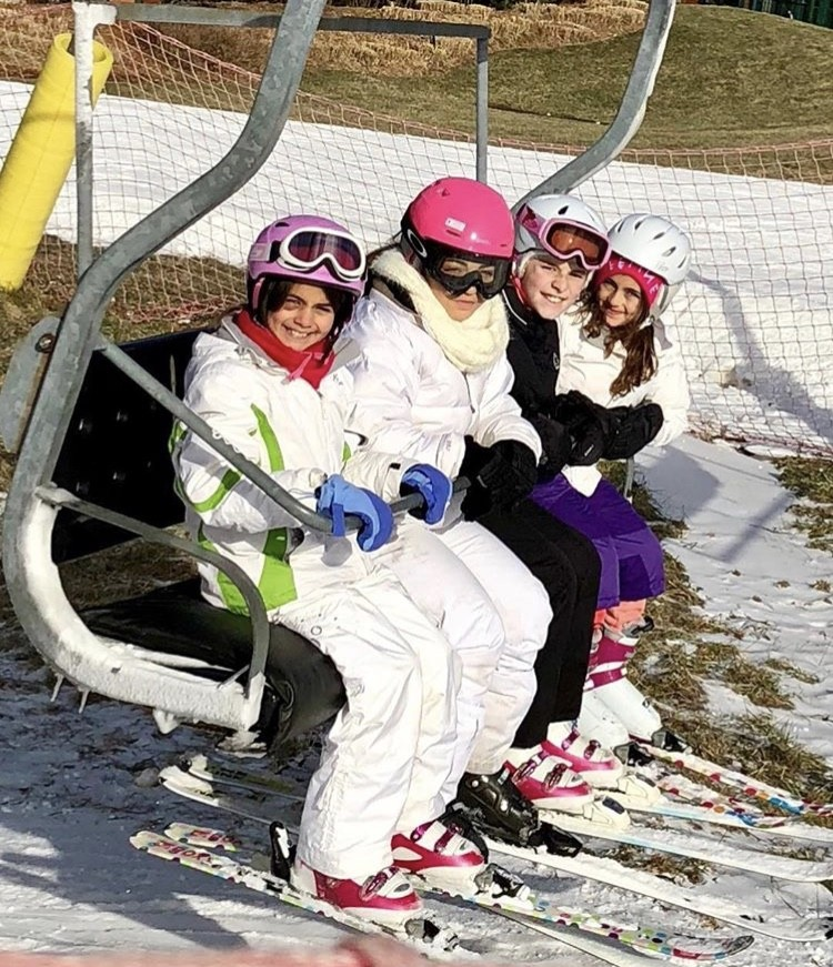 Audriana & Milania With Their Friends
